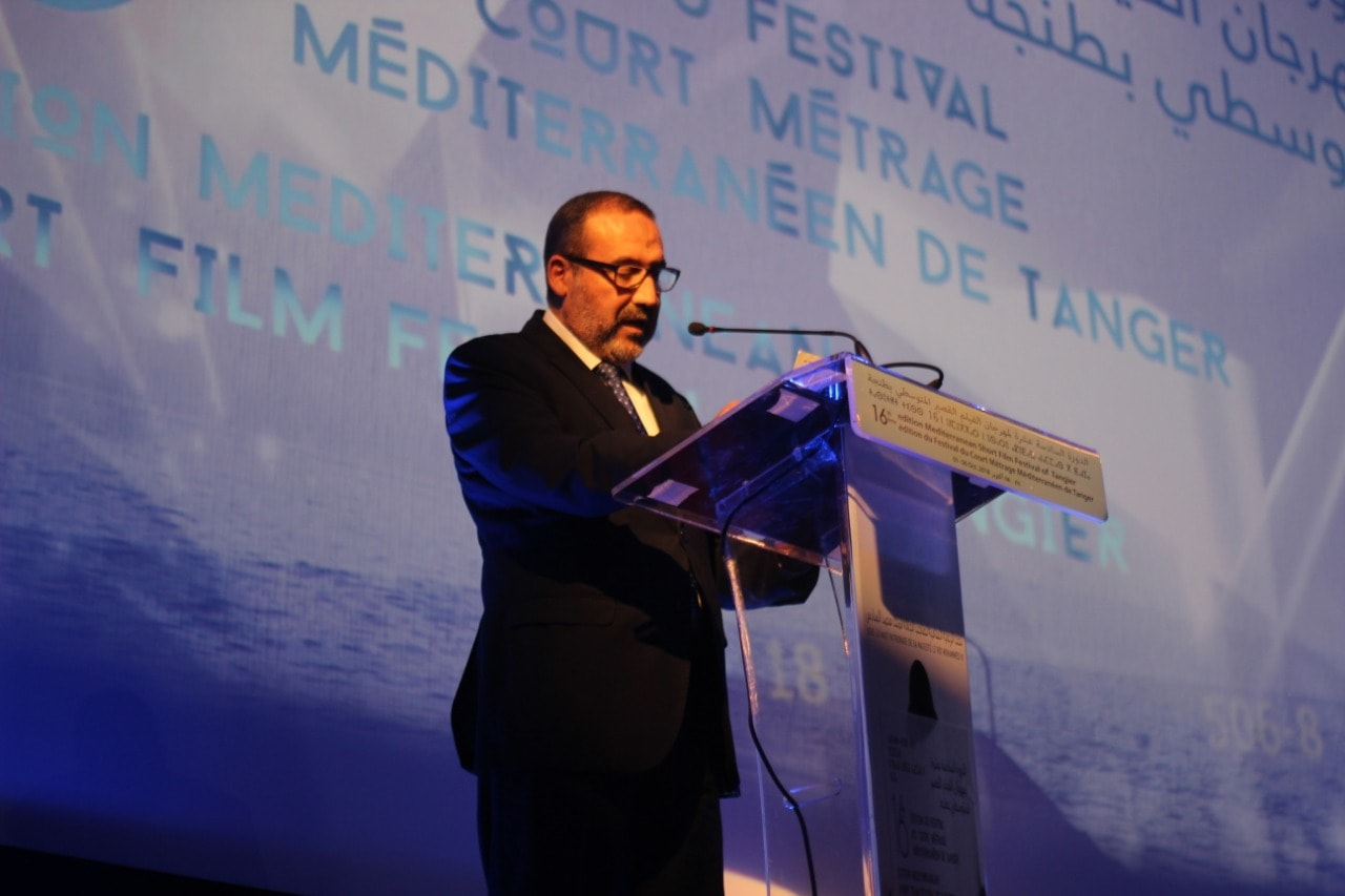 عمدة طنجة يفتتح فعاليات مهرجان الفيلم القصير المتوسطي 1