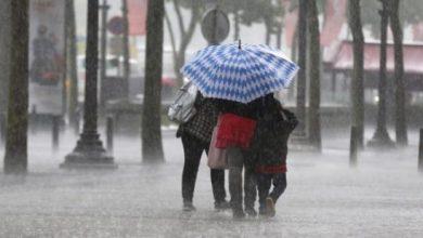 ثلوج وأمطار ابتداءً من يوم الإثنين في هذه المناطق 3