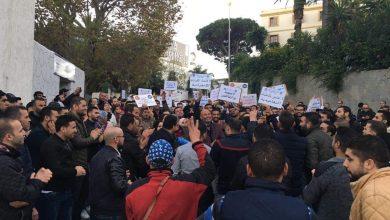 تواصل الاحتجاجات بعد طرد شركة sebn لعمال نقابيين بطنجة 3