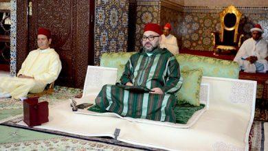 الملك محمد السادس يحيي ليلة المولد النبوي بمسجد حسان 4