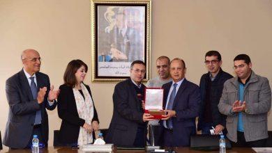 الرابطة المغربية للصحافيين الرياضيين توقع اتفاقية شراكة مع جامعة الألعاب القوى 6