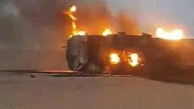 حادثة سير مروعة بالعرائش .. مقتل شخص حرقا بعد اصطدام 3 شاحنات 3