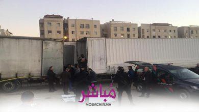 ضبط أزيد من 10 أطنان من الحشيش داخل شاحنة بحي بوخالف 3