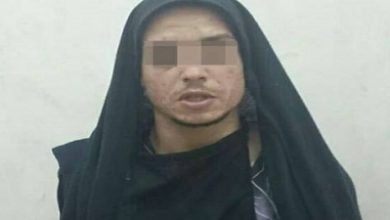 إلقاء القبض على رجل يرتدي النقاب بحي مسنانة بطنجة في ليلة البوناني 3