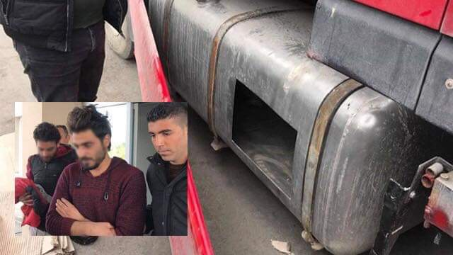 """مؤلم..سوريان يحاولان الوصول إلى قبرص داخل """" خزان الوقود """" 1"""