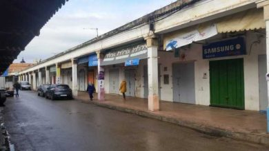 محلات البقالة تغلق أبوابها بالمغرب ضدا على القرار الحكومي 5