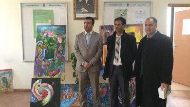 جمارك طنجة تحتفل بيومها العالمي بمعرض للفن التشكيلي 4