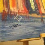 جمارك طنجة تحتفل بيومها العالمي بمعرض للفن التشكيلي 2