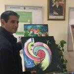 جمارك طنجة تحتفل بيومها العالمي بمعرض للفن التشكيلي 3
