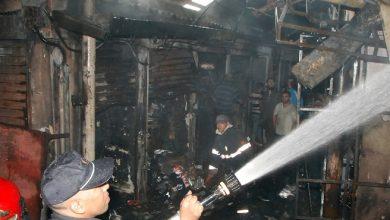 أمن طنجة يضع يده على الشخص الذي حاول اضرام النار في سوق كسباراطا 8
