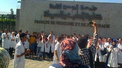 طلبة الطب بالمغرب يضربون عن الدراسة بسبب خوصصة الكليات 5