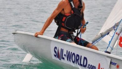 مغامر مغربي يعبر خليج تايلاند على متن قارب شراعي 2