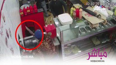 خطير..مشرمل يقتحم مطعما بطنجة ملوحا بسيف للإستلاء على صندوق النقود + (فيديو) 5