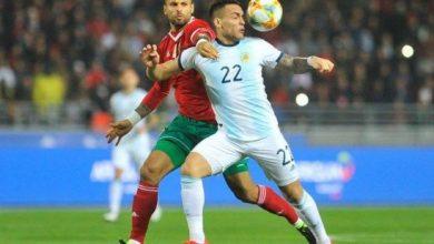 انهزام المنتخب المغربي بهدف نظيف في ودية طنجة 5