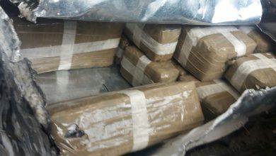 حجز 11 طنا و940 كيلوغراما من مخدر الحشيش على متن شاحنة للنقل الدولي 3