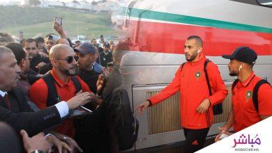 الجماهير الطنجاوية تستقبل لاعبي المنتخب الوطني بحفاوة (فيديو) 2
