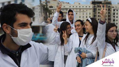 طلبة كلية الطب بطنجة يواصلون احتجاجاتهم (فيديو) 5