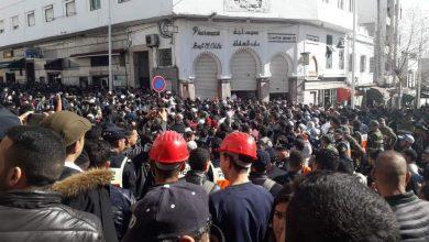 مسيرة حاشدة للأساتذة المتعاقدين تجوب شوارع تطوان (صور) 6