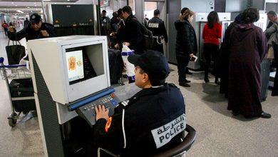 إعتقال  فرنسي موضوع بحث مذكرة دولية بمطار ابن بطوطة 2