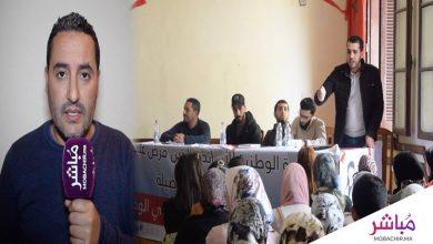 تنسيقية الأساتذة المتعاقدين بطنجة ترفض مخرجات الحوار مع وزارة أمزازي (فيديو) 4