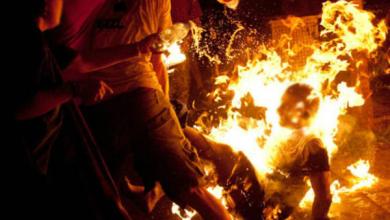 شخصين يضرمان النار في زميليهما ويرديانه قتيلا بالناظور 5
