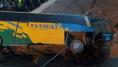 إصابة 14 شخصا إثر انقلاب حافلة كانت متجهة إلى الحسيمة 3