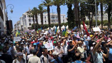 تضامنا مع المعتقلين..تنظيمات إسلامية ويسارية تجتمع في مسيرة مليونية بالعاصمة الرباط 3