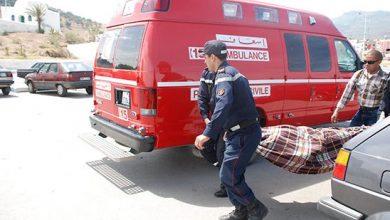 إصابات إثر انقلاب حافلة للنقل المزدوج ضواحي طنجة(فيديو) 3