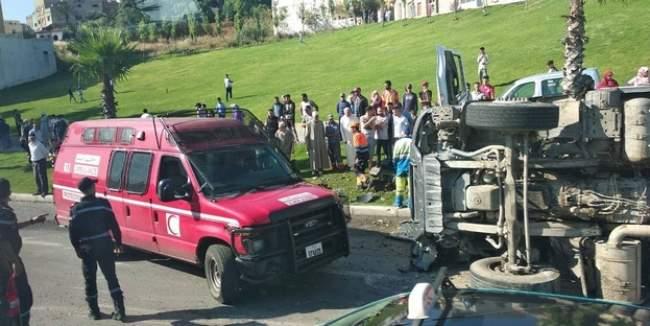 شاحنة تدهس سائق سيارة أجرة بطنجة وترديه قتيلا 1