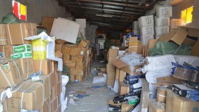 حجز بضائع مهربة بقيمة نصف مليار سنتيم بمدينة تطوان 4