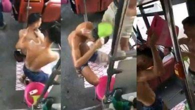 توقيف الشابين اللذان استحمّا داخل حافلة للنقل الحضري بأكادير 4
