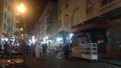 في ظل صمت السلطات الفراشة يحتلون أزقة حي بنكيران 5