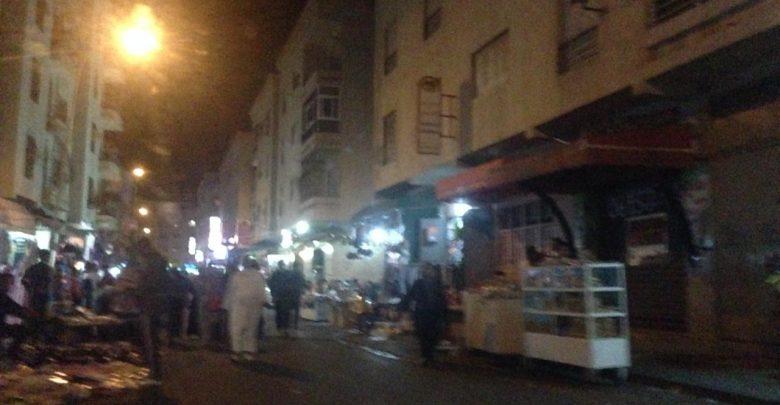 في ظل صمت السلطات الفراشة يحتلون أزقة حي بنكيران 1