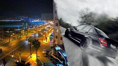 """طنجة.. حجز 3 سيارات وتقديم سائقيها أمام النيابة العامة بسبب """"التفحيط"""" 9"""