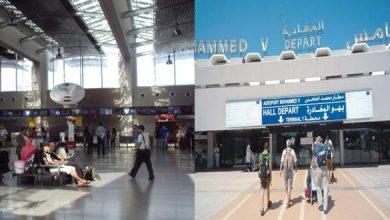 عمال خدمات الأمتعة بمطار محمد الخامس يتسببون في اضطراب حركة النقل الجوي 3