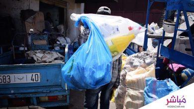 ميخاليو طنجة..أشخاص يعيشون على جمع النفايات القابلة للتدوير 4