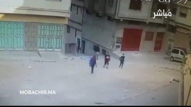 """عصابة """"الفٌقمة"""" و""""العوني"""" تنشر الرعب في حي العوامة بطنجة (فيديو) 6"""