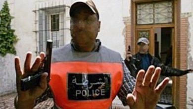 مفتش شرطة يشهر مسدسه الوظيفي لتوقيف مروج مخدرات 2