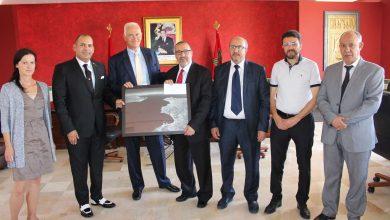سفير ألمانيا بالمغرب يزور مقر جماعة طنجة ويلتقي بالعمدة 5