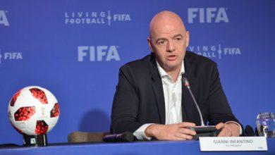 رسميا.. إنفانتينو رئيسا للإتحاد الدولي لكرة القدم لغاية 2023 2