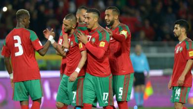 هزيمة ثانية للمنتخب المغربي قبل كان 2019 5