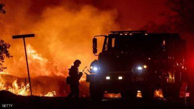 """استمرار محاولات إطفاء حريق """"عين الحصن"""" (فيديو) 6"""