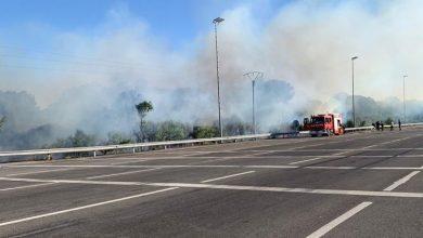 حريق أخر يندلع بمدينة أصيلة 5