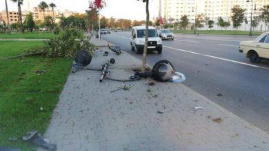 مقاطعة طنجة المدينة تشتكي أضرار حوادث السير على الإنارة العمومية 4