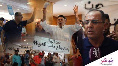احتجاجات في دورة جماعة طنجة والحمامي يقطر الشمع على زميله في الحزب 8