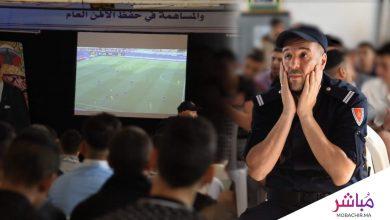 بأجواء حماسية تابع نزلاء السجن المحلي 1 بطنجة مباراة أسود الأطلس 3