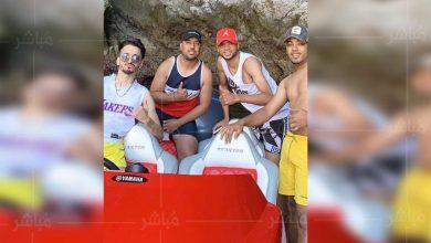 """بعد الإقصاء من """"الكان""""..يوسف النصيري يقضي عطلته بشاطئ الدالية ضواحي طنجة 3"""