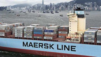"""شركة """"مايرسك"""" تطلق خط جديد بين طنجة المتوسط وهويلفا الإسبانية 5"""