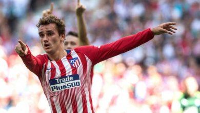 اتلتيك مدريد يرفع تعاقد غريزمان مع فريق برلشونة الى الفيفا 3