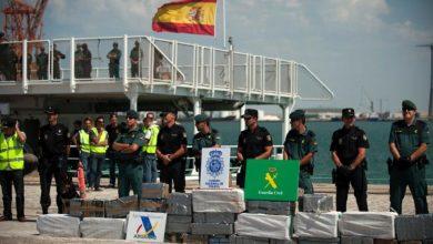 حجز حوالي 248 كلغ من المخدرات وتوقيف مغربيين بميناء الجزيرة الخضراء 2